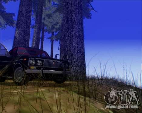 VAZ 2106 Sintonizable para GTA San Andreas vista posterior izquierda