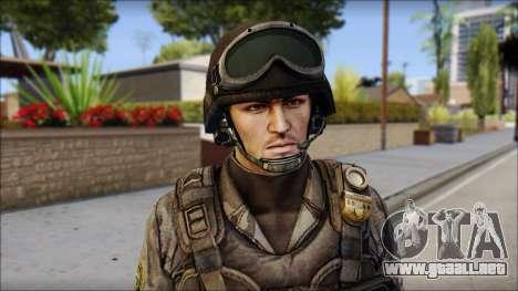 Urban GAFE from Soldier Front 2 para GTA San Andreas tercera pantalla