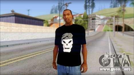 Black Ops T-Shirt para GTA San Andreas