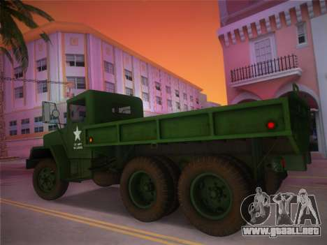 AM General M35A2 1986 para GTA Vice City left
