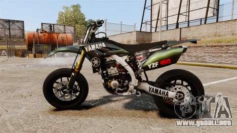 Yamaha YZF-450 v1.7 para GTA 4 left