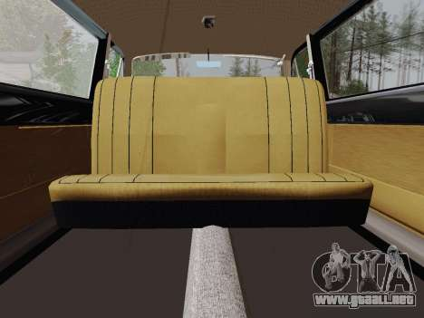 GAS 24-01 de Limusinas para GTA San Andreas vista hacia atrás