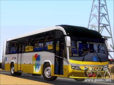 Neobus Mega BRT Volvo B12M-340M para GTA San Andreas vista hacia atrás
