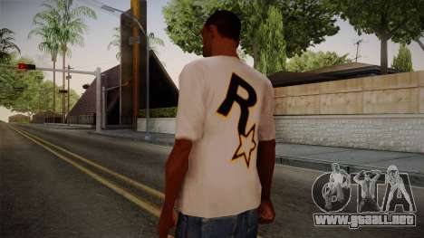 Rockstar Games Shirt para GTA San Andreas segunda pantalla