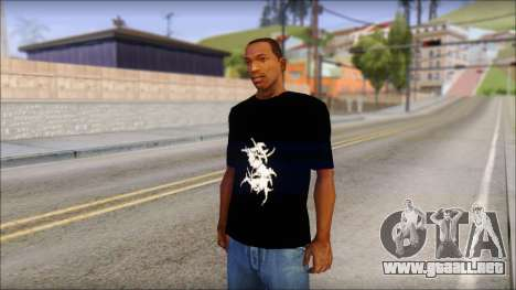 Sepultura Logo T-Shirt para GTA San Andreas