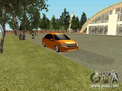 Lada Granta para la visión correcta GTA San Andreas
