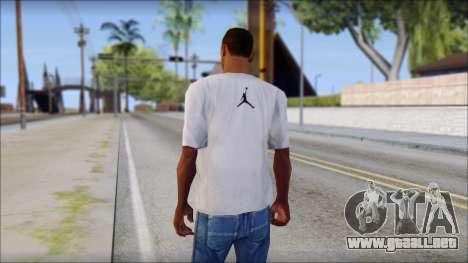 I Love SA T-Shirt para GTA San Andreas segunda pantalla