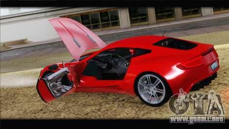 Aston Martin One-77 2010 para el motor de GTA San Andreas