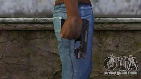 VP-70 Pistol from Resident Evil 6 v1 para GTA San Andreas tercera pantalla