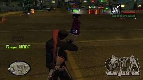 Indicators para GTA San Andreas tercera pantalla