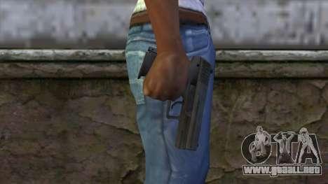 HK P2000 from CS:GO v1 para GTA San Andreas tercera pantalla