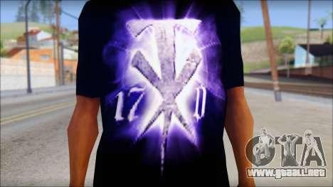 Wrestle Mania T-Shirt v1 para GTA San Andreas tercera pantalla