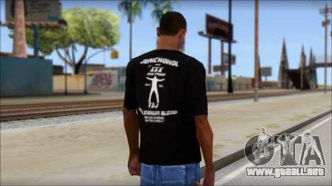 Chris Jericho Jerichohol T-Shirt para GTA San Andreas segunda pantalla