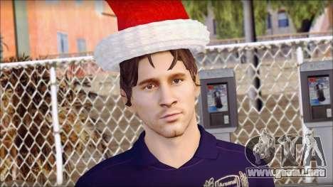 Messi Arsenal Christmas Special para GTA San Andreas tercera pantalla