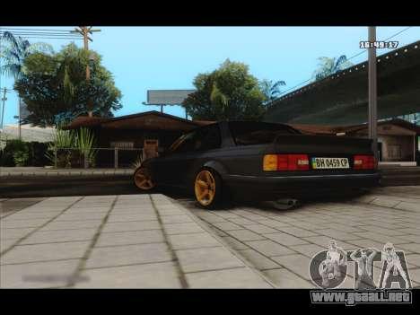 BMW e30 UDC para GTA San Andreas vista posterior izquierda