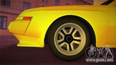 Mitsubishi Starion ESI-R 1986 para GTA Vice City visión correcta