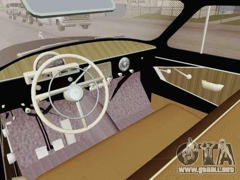 GAZ 21 de Limusinas para la visión correcta GTA San Andreas