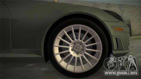Mercedes-Benz SLK55 AMG para GTA Vice City vista lateral izquierdo