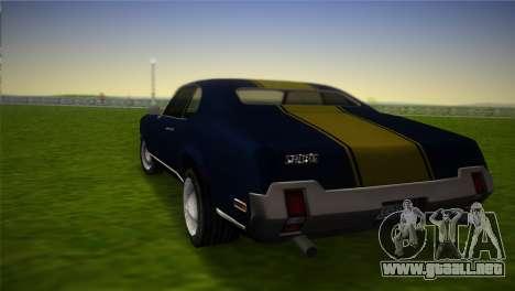 HD Sabre Turbo para GTA Vice City left