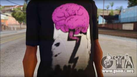 BrainoNimbus T-Shirt para GTA San Andreas tercera pantalla