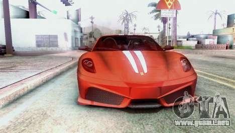 Graphic Unity para GTA San Andreas sucesivamente de pantalla