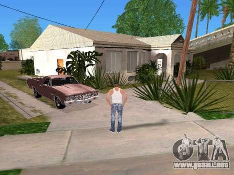 DLock para GTA San Andreas segunda pantalla