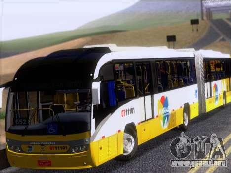 Neobus Mega BRT Volvo B12M-340M para GTA San Andreas left