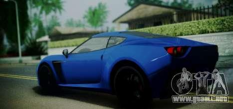 Grotti Carbonizzare from GTA 5 para GTA San Andreas left