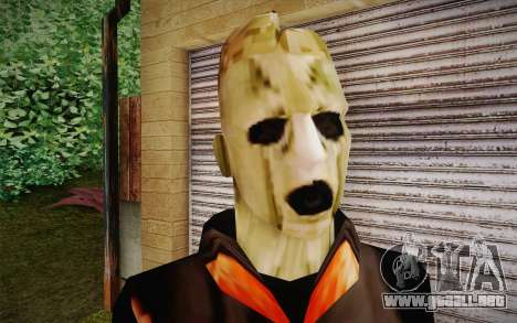 Corey Taylor Skin para GTA San Andreas tercera pantalla