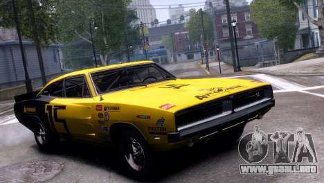Dodge Charger RT 1969 EPM para GTA 4 left
