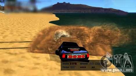 Car Grav Hack para GTA San Andreas tercera pantalla