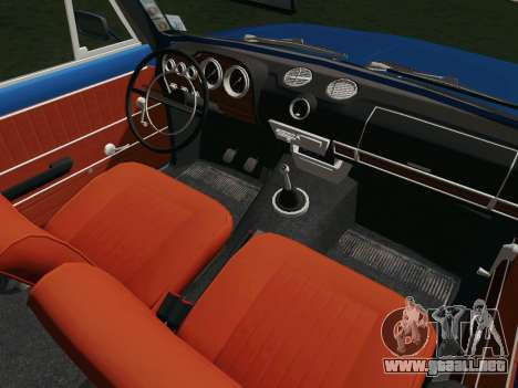 VAZ 21032 para vista lateral GTA San Andreas