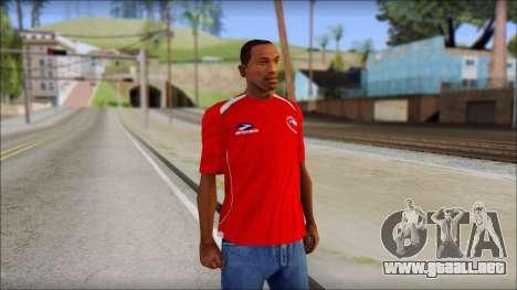 Chile T-Shirt para GTA San Andreas