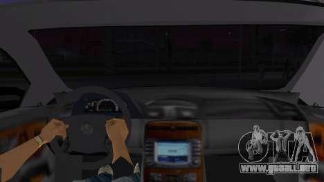 Mercede-Benz CL65 AMG Limousine para GTA Vice City vista lateral izquierdo