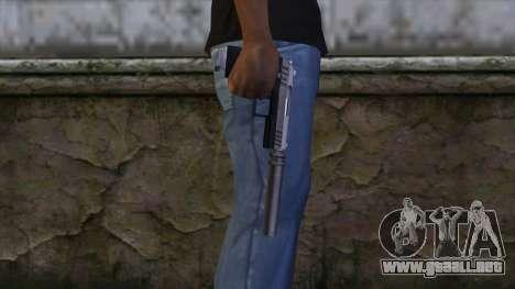 Silenced Combat Pistol from GTA 5 para GTA San Andreas tercera pantalla