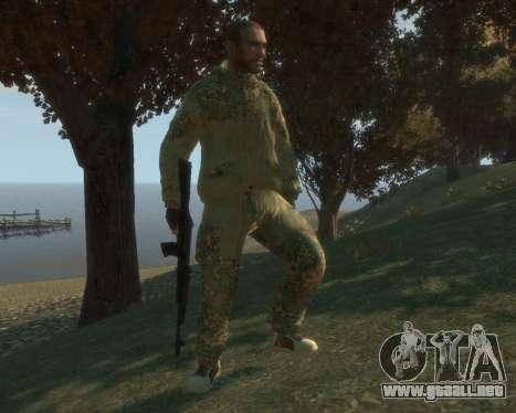 Ruso camuflaje para GTA 4 segundos de pantalla