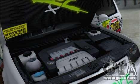Volkswagen Golf MK4 R32 para el motor de GTA San Andreas