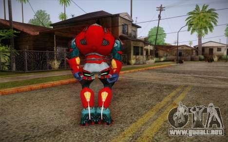 Red Elite v2 para GTA San Andreas segunda pantalla