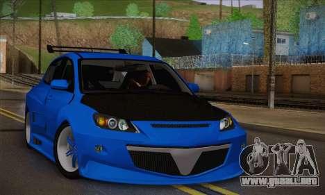 Mazda Speed 3 Tuning para GTA San Andreas