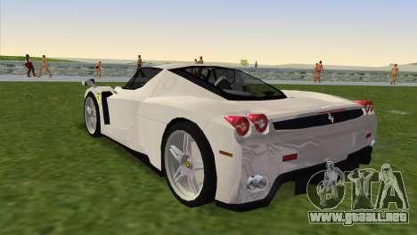Ferrari Enzo 2003 para GTA Vice City left