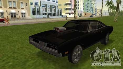 Dodge Charger RT Street Drag 1969 para GTA Vice City