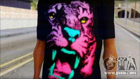 Wild POP Thing Shirt para GTA San Andreas tercera pantalla