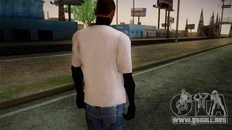 Supreme T-Shirt para GTA San Andreas segunda pantalla