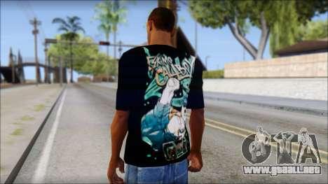 Eskimo Callboy Fan T-Shirt para GTA San Andreas segunda pantalla
