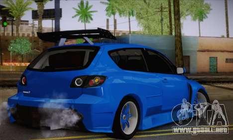 Mazda Speed 3 Tuning para GTA San Andreas left