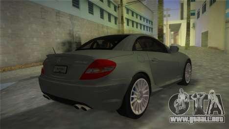 Mercedes-Benz SLK55 AMG para GTA Vice City left