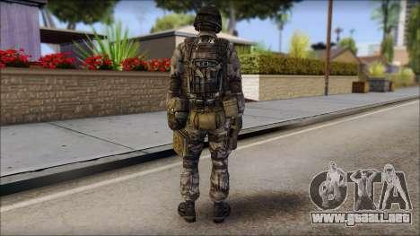 Urban GAFE from Soldier Front 2 para GTA San Andreas segunda pantalla