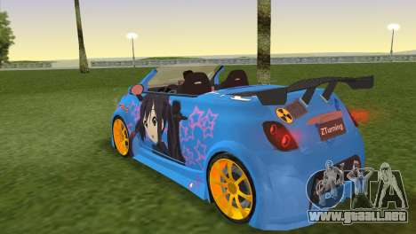 Fiat 500 ZTuning para GTA Vice City left