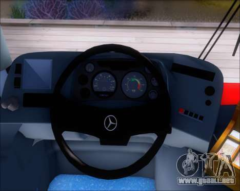 Neobus Spectrum City Mercedes Benz OF-1722 para las ruedas de GTA San Andreas