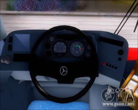Neobus Spectrum City Mercedes Benz OF-1722 para las ruedas de GTA San Andreas